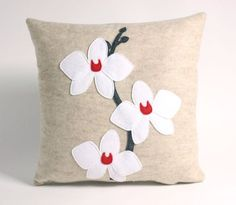 Alexandra Ferguson's felt pillows on Etsy