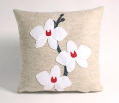 Alexandra Ferguson's felt pillows on Etsy
