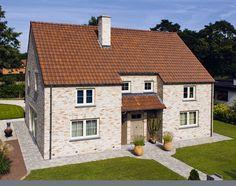 Keramische dakbedekking voor duurzame onderhoudsvriendelijke dakpannen met een lange levensduur. Panmodel: VHV rustiek