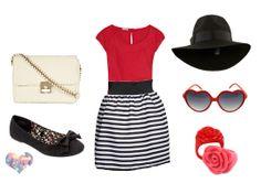 Y. A. Q. - Blog de moda, inspiración y tendencias: [Y ahora qué me pongo con] Una falda rayada