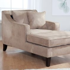Sutton Club Chaise Lounge - Taupe