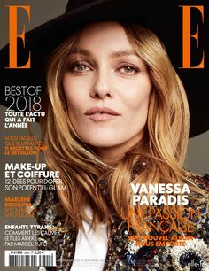 Vanessa Paradis Celebrates 46 Years, Covering ELLE France December 2018 By Philip Gay — Anne of Carversville Vanessa Paradis, Sophie Dahl, Isabel Lucas, Madchen Amick, Camren Bicondova, Star Francaise, Emily Browning, Faye Dunaway, Evan Rachel Wood