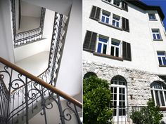 Entrance to our apartments in a historicbuilding from 1908 | Ferienwohnung | holiday apartment | Mellau-Damüls Faschina Skischaukel