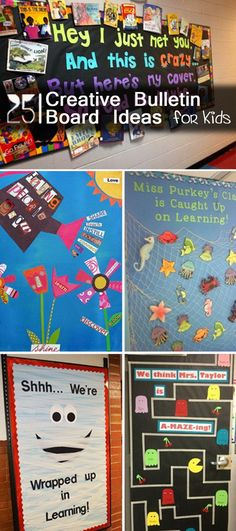 Creative Bulletin Board Ideas for Kids!