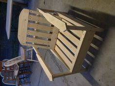 Homemade outdoor chair