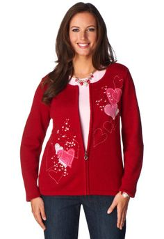 Valentines Day Cardigan - Christopher & Banks