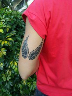 My Wings Wing Tattoo – Fashion Tattoos Creative Tattoos, Unique Tattoos, Beautiful Tattoos, Small Tattoos, Tatuajes Irezumi, Irezumi Tattoos, Back Tattoos, Body Art Tattoos, Tattoos For Guys