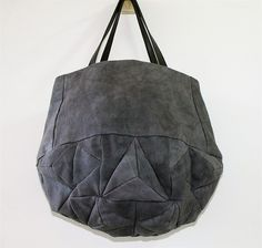 faceted leather