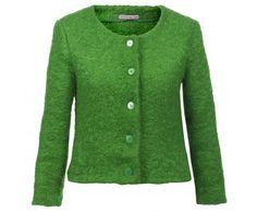 Dressfactor jasje mohair groen