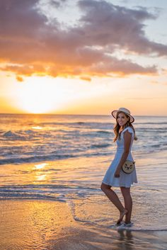 Gal Meets Glam - 2015 April 20 - Yokohama Bay - Location: Oahu, Hawaii - Red Valentino Dress (30% off here), Charlotte Olympia Bag (also love this one), Eugenia Kim Hat