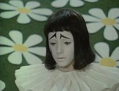 """Pierrot from Russian film """"buratino"""" aka Pinocchio Pierrot Clown, Arte Indie, Inspiration Artistique, Poses, Film Stills, Aesthetic Pictures, Clowns, Art Inspo, Art Reference"""