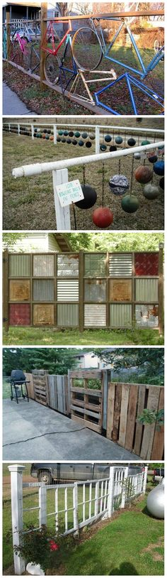 8 Awesome Recycled Fences