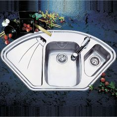 See our range of Swiss Stainless Steel inset Sinks! Here's SWISS A3 SINK CLEARANCE – 1056Lx575Wx190H ORDER ONLINE TODAY! #kitchen #sink