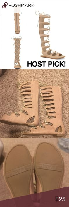 Gladiator sandals Gladiator sandals good condition wore only once Bar III Shoes Sandals