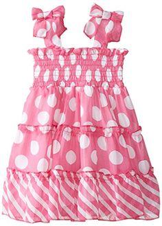 Blueberi Boulevard Baby-Girls Newborn Dot Tie Chiffon Dress, Pink, 6-9 Months Blueberi Boulevard http://www.amazon.com/dp/B00WDS8RDO/ref=cm_sw_r_pi_dp_gJejwb12KQX9X