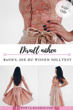 Sew high neck dirndl or my absolute passion You should take this into account when sewing dirndls. Source by wlflhorvath Girls Knitted Dress, Knit Baby Dress, Little Girl Dresses, Girls Dresses, Dirndl Dress, Clothing Hacks, Women's Fashion Dresses, The Dress, Dress Patterns