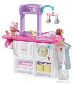 Love & Care Deluxe Nursery™ | Pretend Play | by Step2 They have this at sam's but its pink!