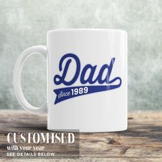 Dad Since, (ANY YEAR), New Dad, Father's Day Gift, Gifts For Dad, Dad Shirt, Birthday Gift For Dad, Dad Gift, Dad T-Shirt, Dad Birthday