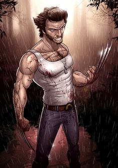 Wolverine by Patrick Brown