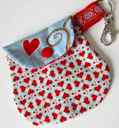Minitaschen als Anhänger, Kreativ-Ebook als Geschenk