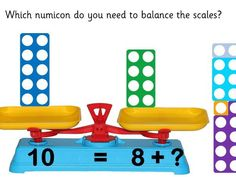 Numicon Number Bonds to 10 Animated Powerpoint Teaching Numbers, Math Numbers, Teaching Math, Teaching Resources, Numicon Activities, Math Manipulatives, Year 1 Maths, Early Years Maths, Number Bonds To 20