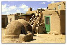 Taos Pueblo - Taos, New Mexico   by Batikart ... O F F !!!