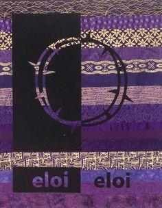 Lenten Banner. Jeff Wunrow.