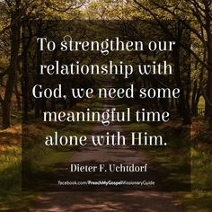 meaningful relationship with god