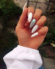 Mejores Diseños de Uñas que te Inspirarán - -▷ Mejores Diseños de Uñas que te Inspirarán - - 39 Ideas for nails design black yellow Beste Nagelideen! Coffin Nails Matte, Acrylic Nails, Acrylics, Pretty Nails, Gorgeous Nails, Nice Nails, Simple Nails, Hair And Nails, My Nails