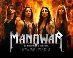 MANOWAR Heavy Metal from USA Best Picture For Musical Band on stage For Your Taste You are looking for something, and it is going to tell you exactly what you are looking for, and you didn't find that Hard Rock, Manowar Band, Metal Horns, 80s Hair Bands, Zakk Wylde, Heavy Metal Music, Band Posters, My Favorite Music, Greatest Hits
