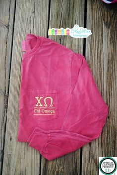 Chi Omega Long Sleeve Sorority T-Shirt
