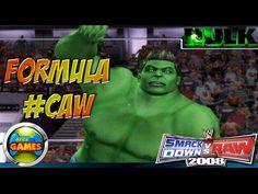 The Hulk Smackdown vs Raw WWE CAW 2008