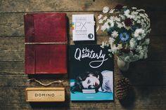 The Quarterly: Issue One by Sanj Sahota, via Behance