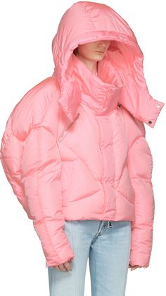 Chen Peng - Pink Down Jacket                                                                                                                                                                                 More