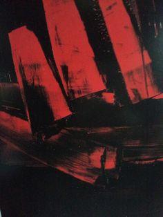 «La peinture ça ne se regarde pas, ça se fréquente. Pierre Soulages