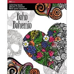 Trends Coloring Book Boho