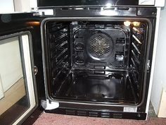 Get fully guaranteed professional oven repair in London from the qualified and experienced team at Exclusive Repairs. Call to get a quote today! Household Cleaning Tips, Deep Cleaning Tips, Oven Cleaning, Cleaning Hacks, Grease Stains, Safety Valve, Cooking Utensils, Small Appliances, Home Look