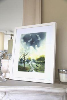 Irish Art, Watercolours, Art For Sale, Holidays, Winter, Decor, Vacations, Decoration, Holidays Events