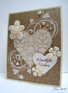 Sending Hugs: Hearts and Flowers