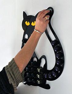 Amazon.com: Cat Magnetic Nespresso coffee pod holder: Handmade