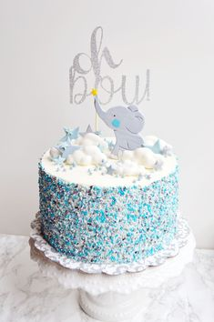 elephant baby boy cake elephant baby boy cake Related FUN Baby Shower Games - Southern Dakota MamaPlanning a Baby Shower? 3 Tips For Throwing a Wonderful Baby Shower How t. Elephant Baby Boy, Elephant Baby Shower Cake, Elephant Cakes, Baby Shower Cakes For Boys, Baby Boy Cakes, Boy Baby Shower Themes, Elephant Party, Babyshower Cake Boy, Boy Baby Showers