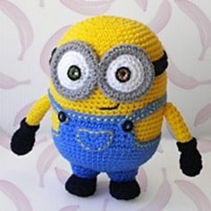 Amigurumi, Minion crochet and Kevin oleary on Pinterest