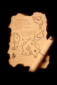 treasure maps- I need someone to hep me make a map