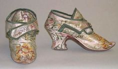 It's About Time: Delightful Distractions - Century Shoes 18th Century Dress, 18th Century Costume, 18th Century Fashion, Vintage Shoes, Vintage Outfits, Vintage Fashion, Vintage Clothing, Victorian Shoes, Fru Fru