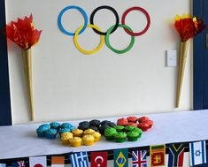 Kids Olympic Party: Theme and Ideas Olympic Games For Kids, Olympic Idea, Olympic Golf, Olympic Flag, Kids Olympics, Summer Olympics, Birthday Party Themes, Themed Parties, 7th Birthday