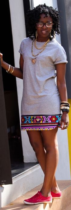 Look at this Stylish african fashion outfits African Inspired Fashion, African Print Fashion, Africa Fashion, Fashion Prints, African Fashion Traditional, Tribal Fashion, African Print Dresses, African Fashion Dresses, African Prints