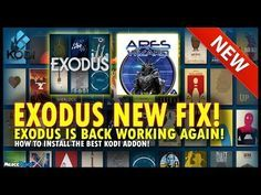 EXODUS WORKING AGAIN! | KODI | NEW EXODUS FIX! | [2017] - YouTube