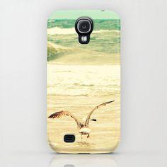Beach ocean sea seagull  iPhone Samsung iPod iPad case by RDelean, $35.00