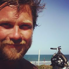 That's me a year ago! Sun burnt hairy-homeless looking beaten by Pacific Ocean winds while pedaling and hiking more than 4300km on Australian East Coast. Tomorrow morning I am back on a bicycle to see the magical Great Ocean Road and to visit one of the best rock climbing area in the world in Grampian National Park. Stay tuned my friends and lets have fun on this quick 800km journey! #Australia #greatoceanroad #Grampian #cycling #road #touring #adventure #explore #adventureiseverywhere…