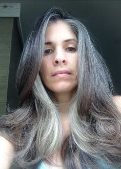 i love my grey hair | Storm with long gray hair | I LOVE my Grey ...